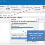 Outlook kennt mindestens einen Namen nicht