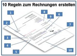 10 Regeln zum Rechnungen erstellen