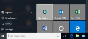 Ansicht: SuccessControl Icon unter Windows 10
