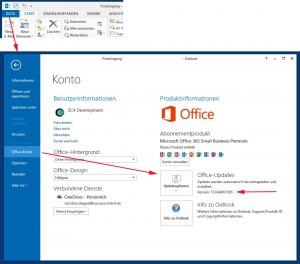 Office-2013-Servicepack-ermitteln
