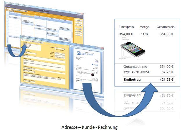 Das Rechnungsprogramm mit CRM Kundenverwaltung - SuccessControl CRM