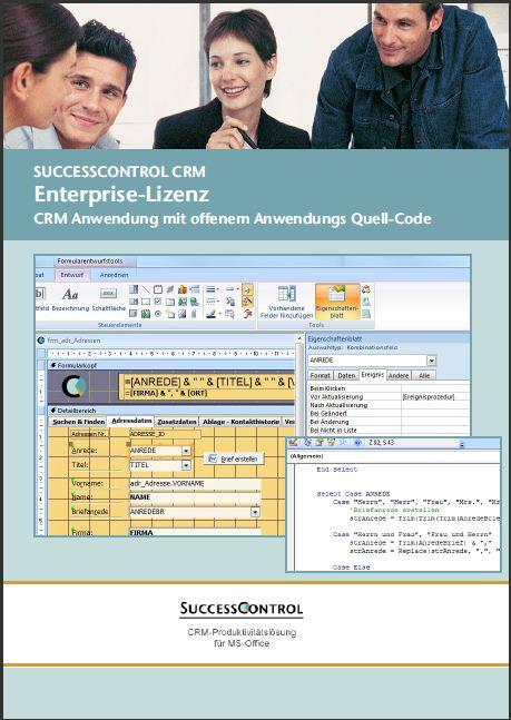 Access CRM Vorlage - für Microsoft Access 2007 und 2010 - 2013CRM ...