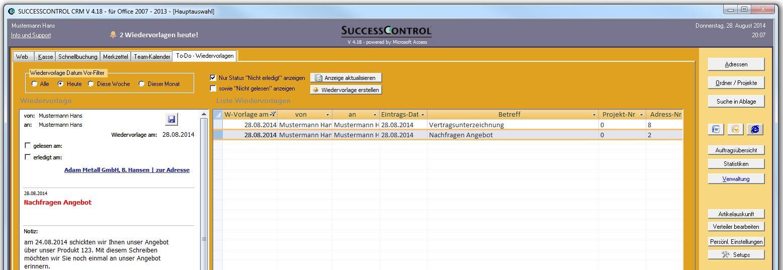 Faq Zum Thema Adressenverwaltung Und Kundenverwaltung Mit Crm