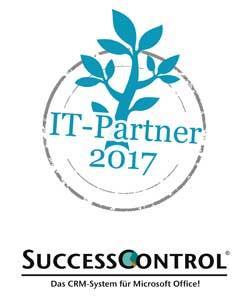 Auszeichnung: IT-Partner 2017 - SuccessControl CRM