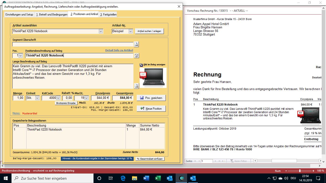 Crm System Successcontrol Rechnungsprogramm Mit Crm Successcontrol Rechnungsprogramm Mit Crm